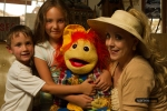 Christine Marie, puppets, kids